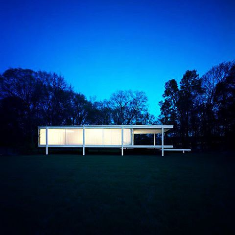 The one and only residential house built by Mies vanhellip