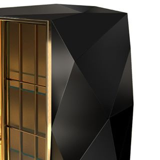 The Chopins modern cabinet outside is covered in a blackhellip