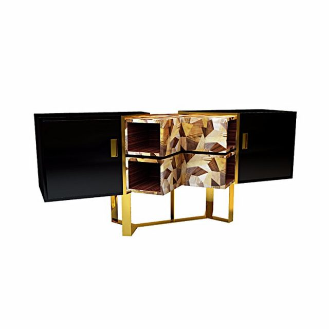 NEW Sideboard  The modern Emel sideboard follows the stricthellip
