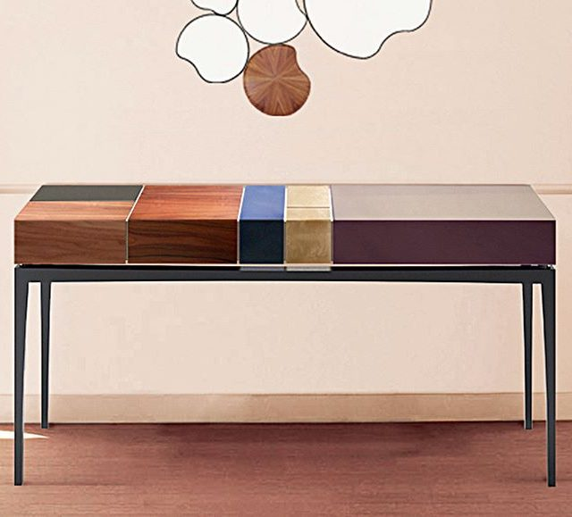 Proportion a single console with a symmetrical design worthy ofhellip
