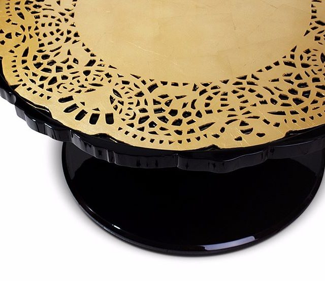 Crochet contemporary center table is a tribute to the skillshellip