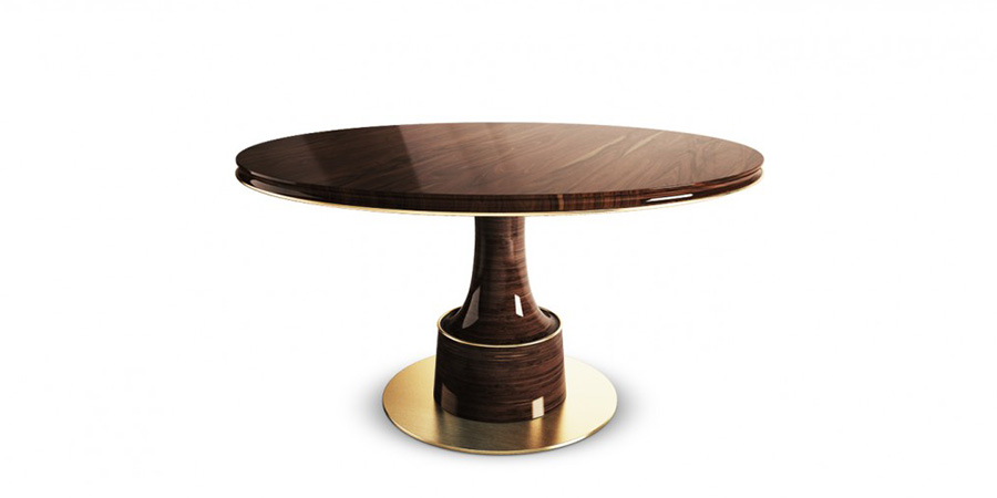 Breathtaking Dining Tables for Luxurious Living Spaces 8