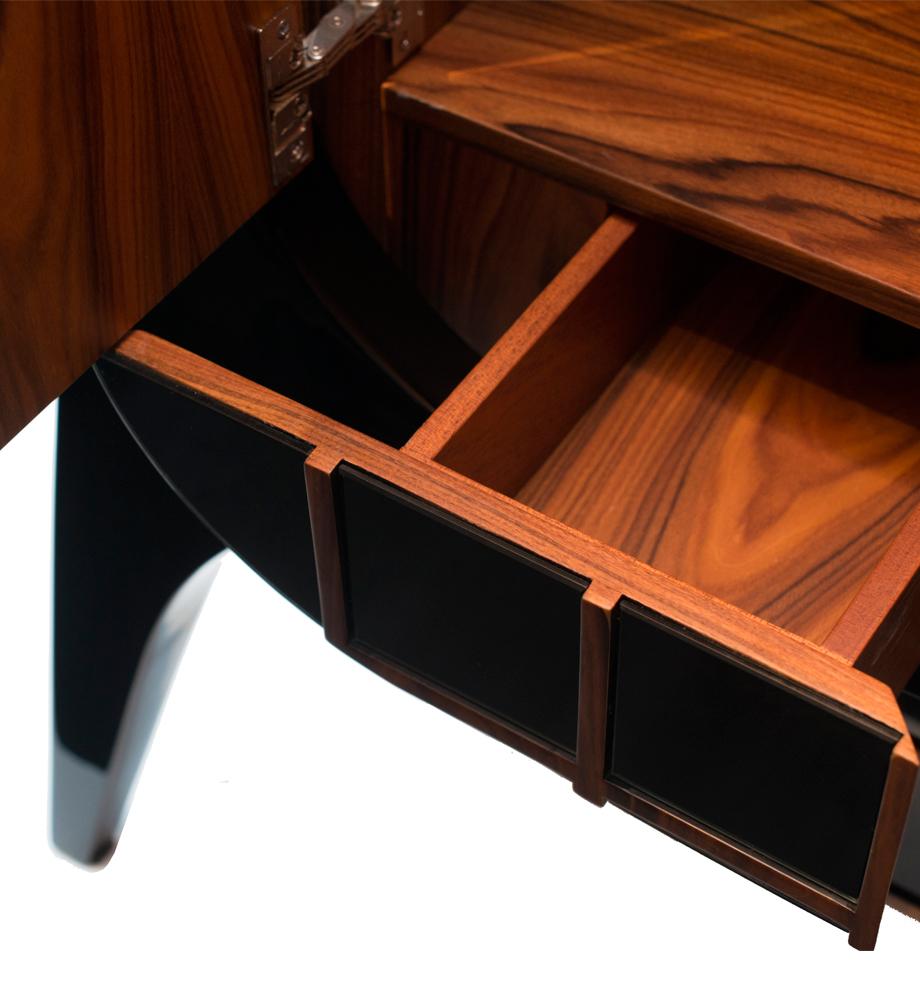 Brasilia Contemporary Cabinet, Brasilia, Modern Cabinet, Contemporary  Cabinet, Contemporary Furniture Piece,