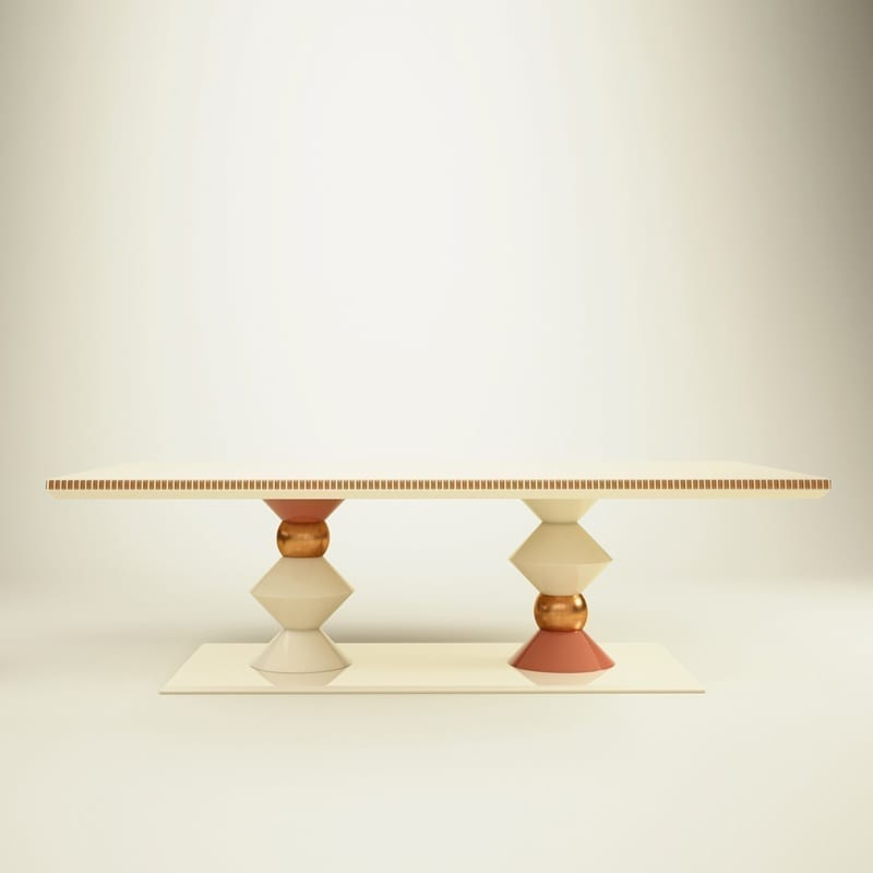 Cortez Dining Table | Artistic Dining Tables by Malabar