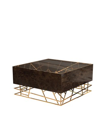 Kenzo Modern Center Table, kenzo center table, center table, center table design, contemporary style furniture, world-class architecture, modern living room, glass table top, polished brass table, geometric design