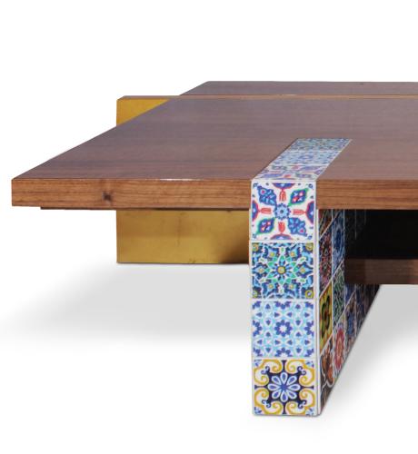 Camelia Center Table