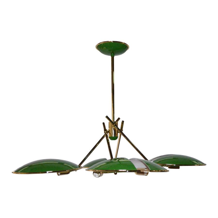 Greenery Beetle Suspension Lamp