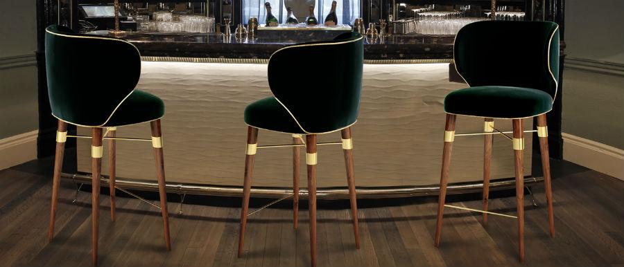 Greenery Bar Chair - Louis designed by Ottiu