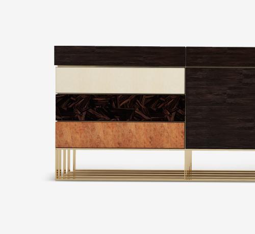 Hollow Modern Sideboard