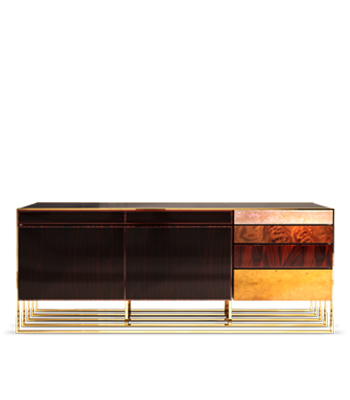 Hollow Modern Sideboard, modern sideboard, contemporary home decor, modern furniture, hollow sideboard, home decor