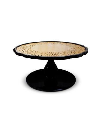 crochet center table, crochet contemporary center table, contemporary center table, moder center table, crochet, interior spaces, contemporary furniture