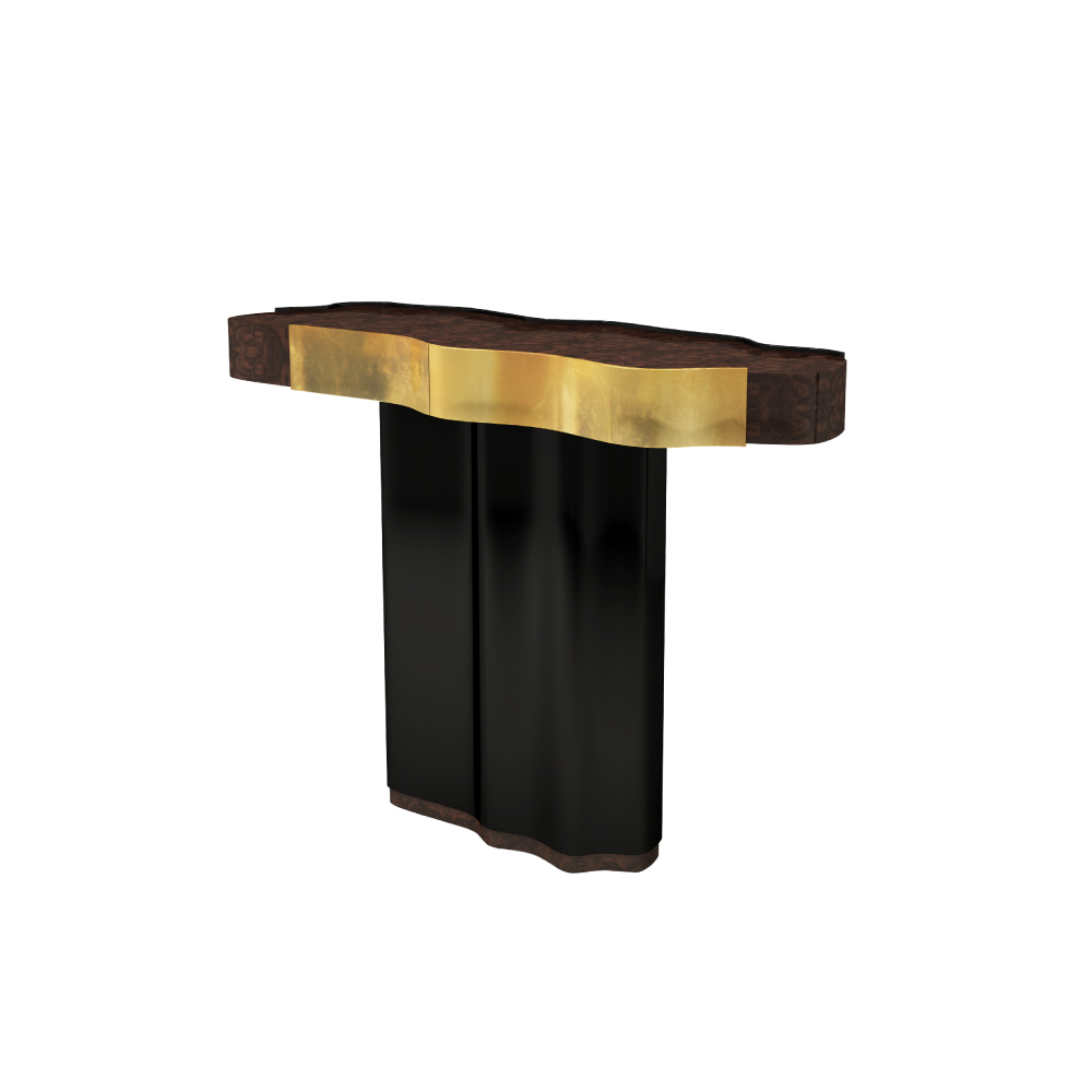 horizon console, modern console, contemporary console, modern furniture, contemporary living room, horizon modern console