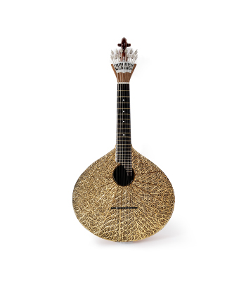 Filum Portuguese Guitar coated with gold filigree