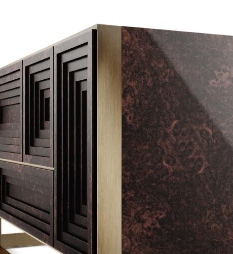 Venezia Modern Sideboard Detail