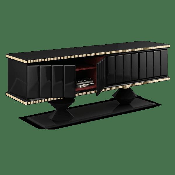 Cortez geometric sideboard