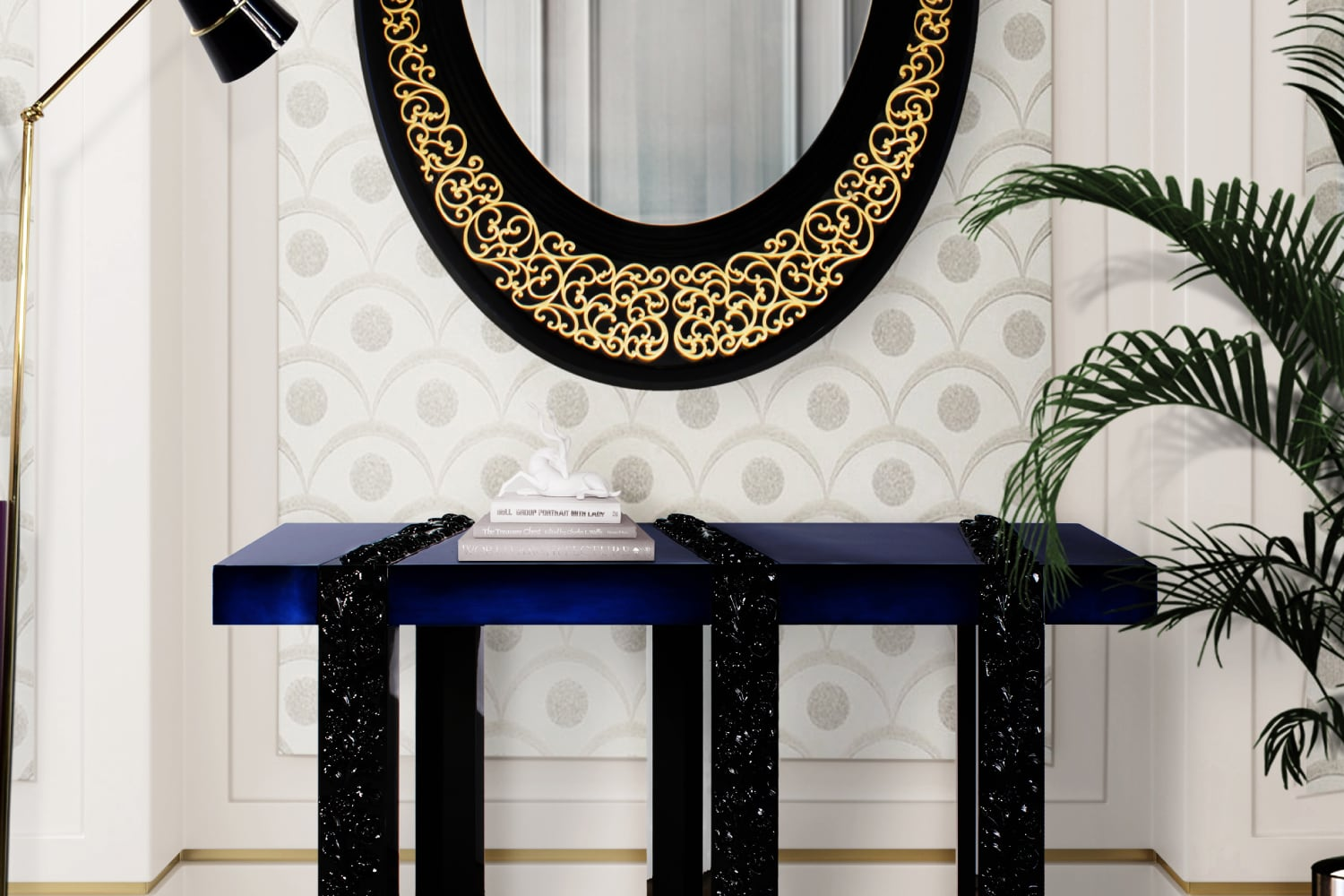 Viana contemporary Mirror