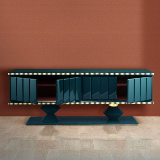 Cortez geometric sideboard | Artistic Collection