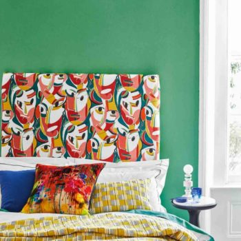 Bedroom Inspired by Cubism