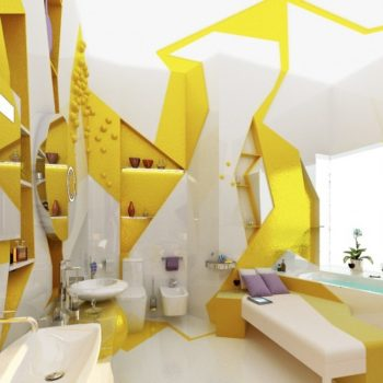 Cubism apartment