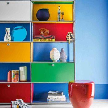 Colored decor