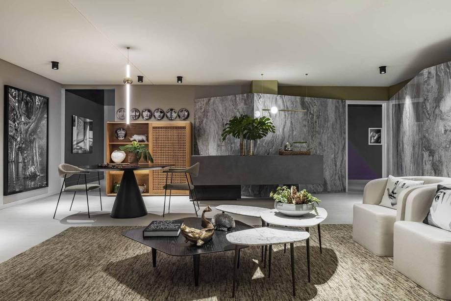 Leo shetman's apartment decor