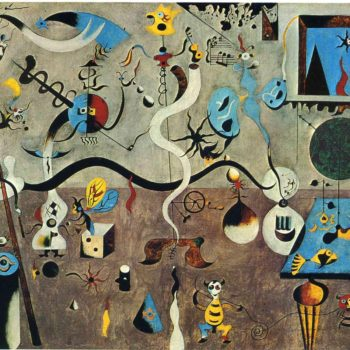 Carnival of Harlequin by Miró