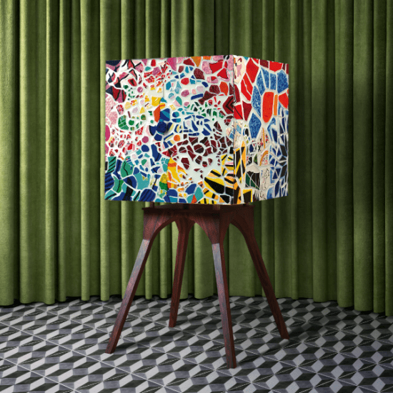 Templo Hand-Painted Cabinetr | Artistic Collection Pieces