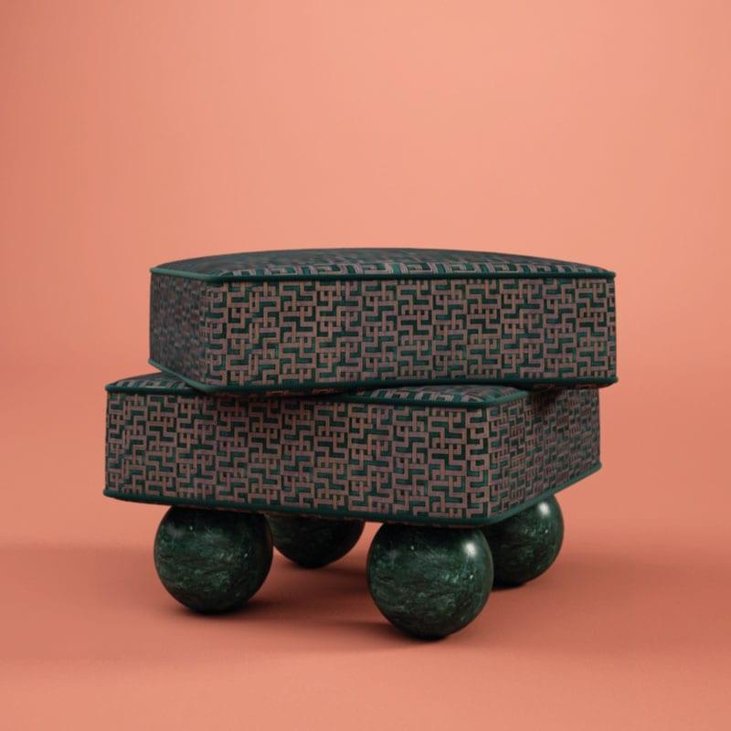 Madonna Stool by Malabar | Artistic Furniture | Artistic Stools