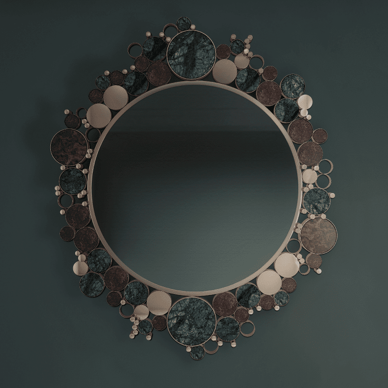 Wanderlust Modern Mirror | Artistic Collection Pieces