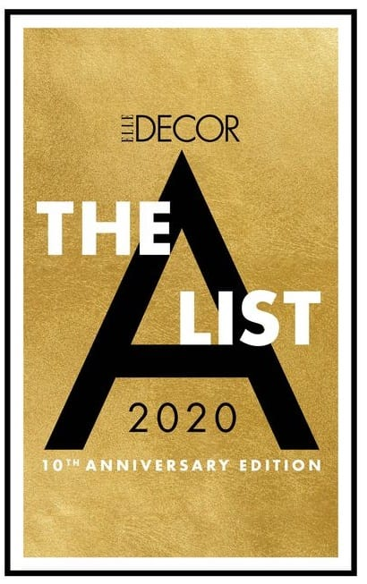 2020 A-list Elle Decor