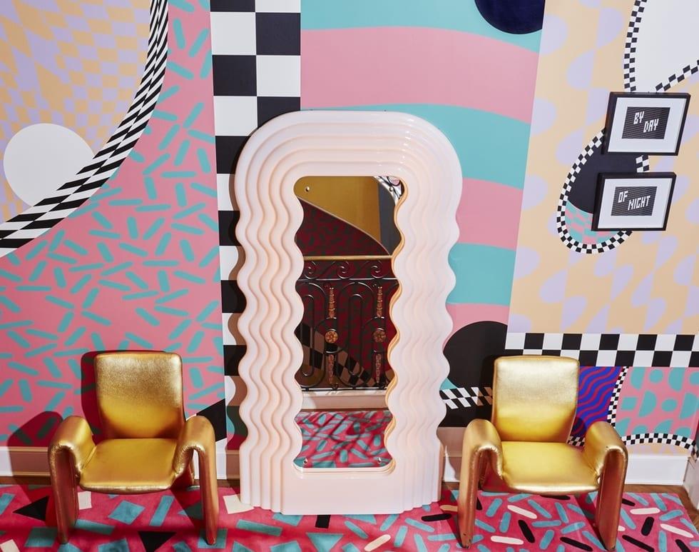 80s interior design trends