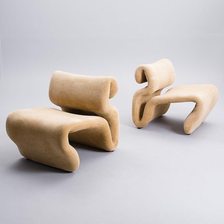 Art Meets Interior Design - Etcetera Lounge Chair by Jan Ekselius