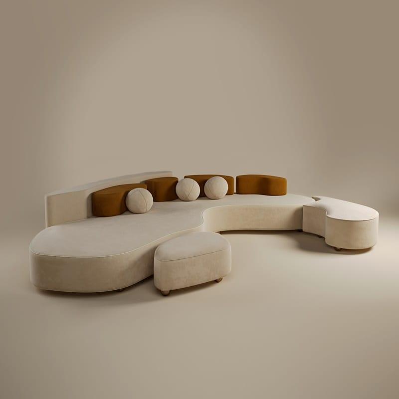 Art Meets Interior Design - Mood Sofa