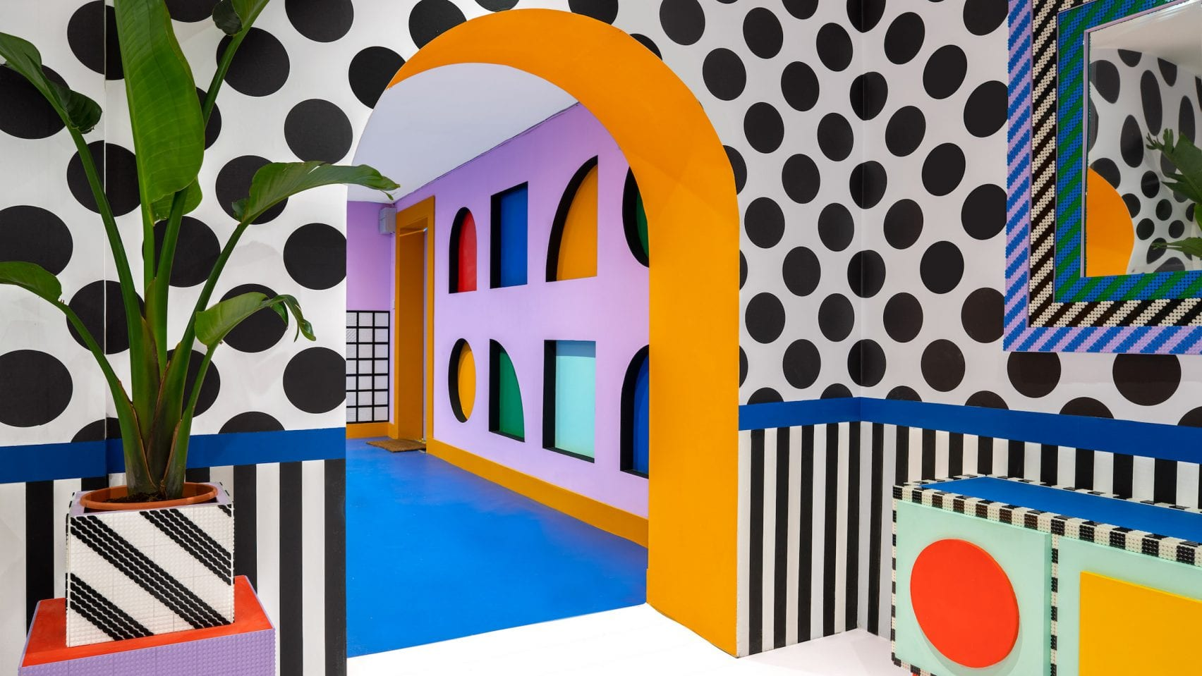 House of Dots Camille Walala