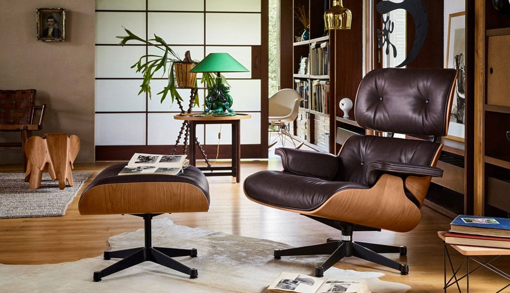 Iconic Furniture Pieces - Eames Lounge Chair