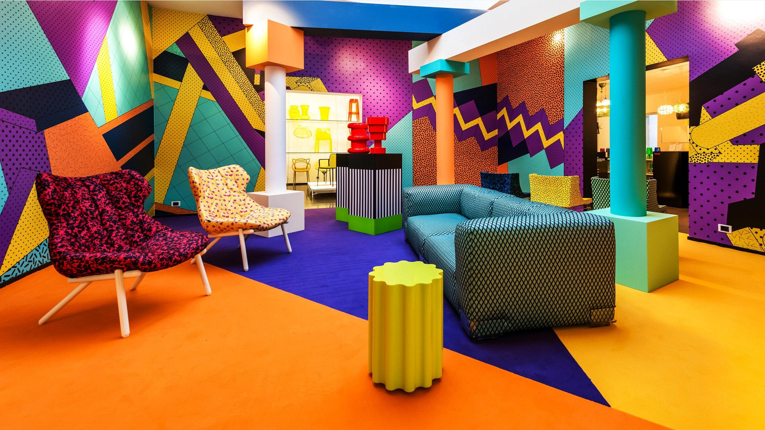 Memphis Design - '80s Interior Design Trends