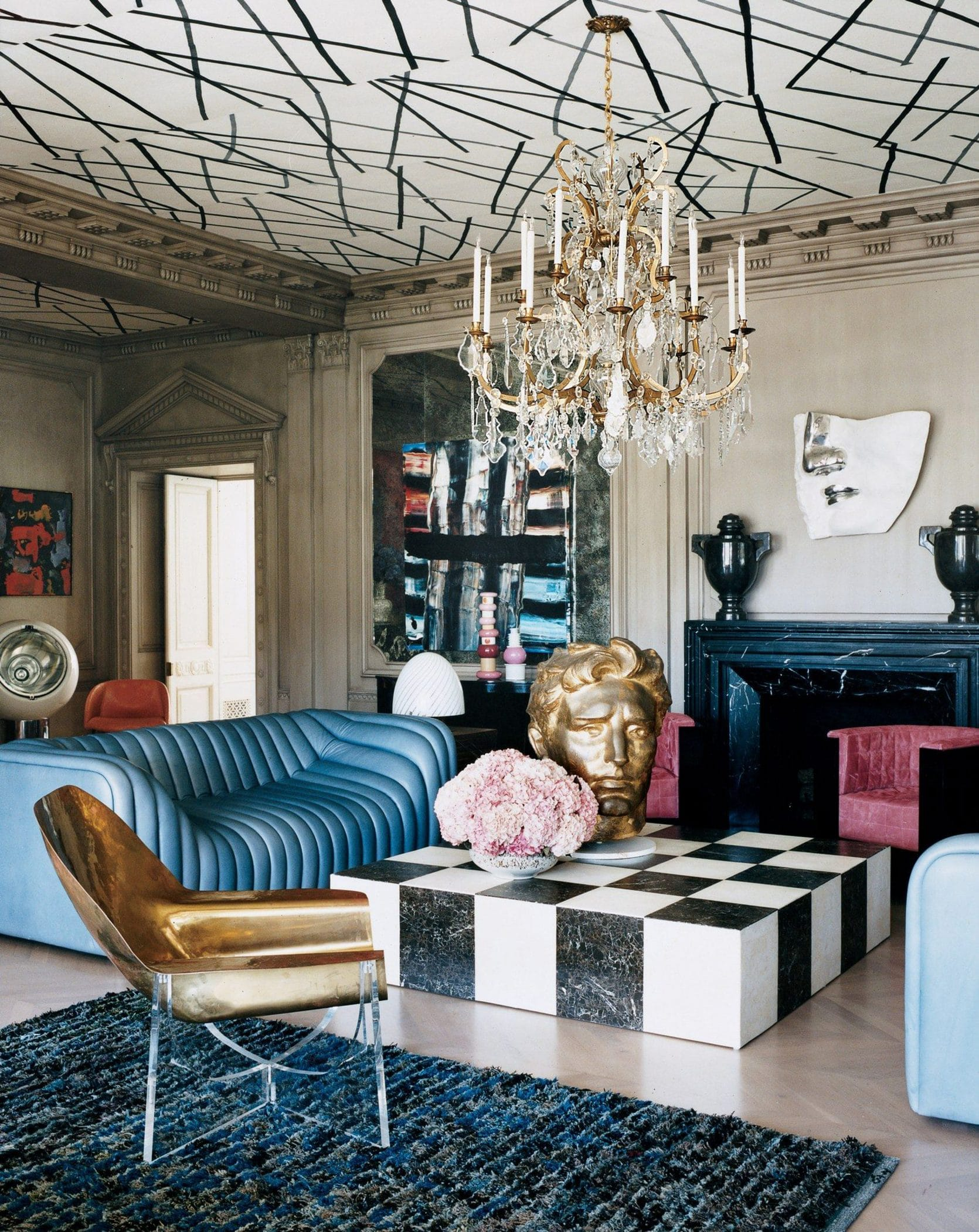 New postmodern - 80s interior design trends