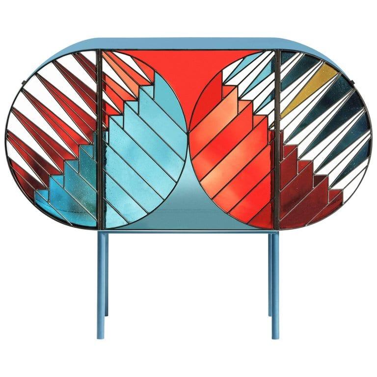 Credenza sideboard by patricia urquiola