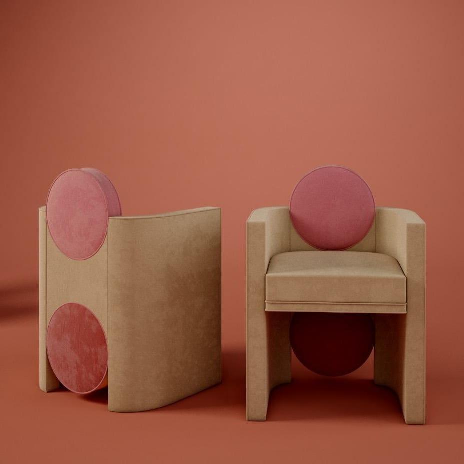 Postmodern interior design mak suh muh dining chair