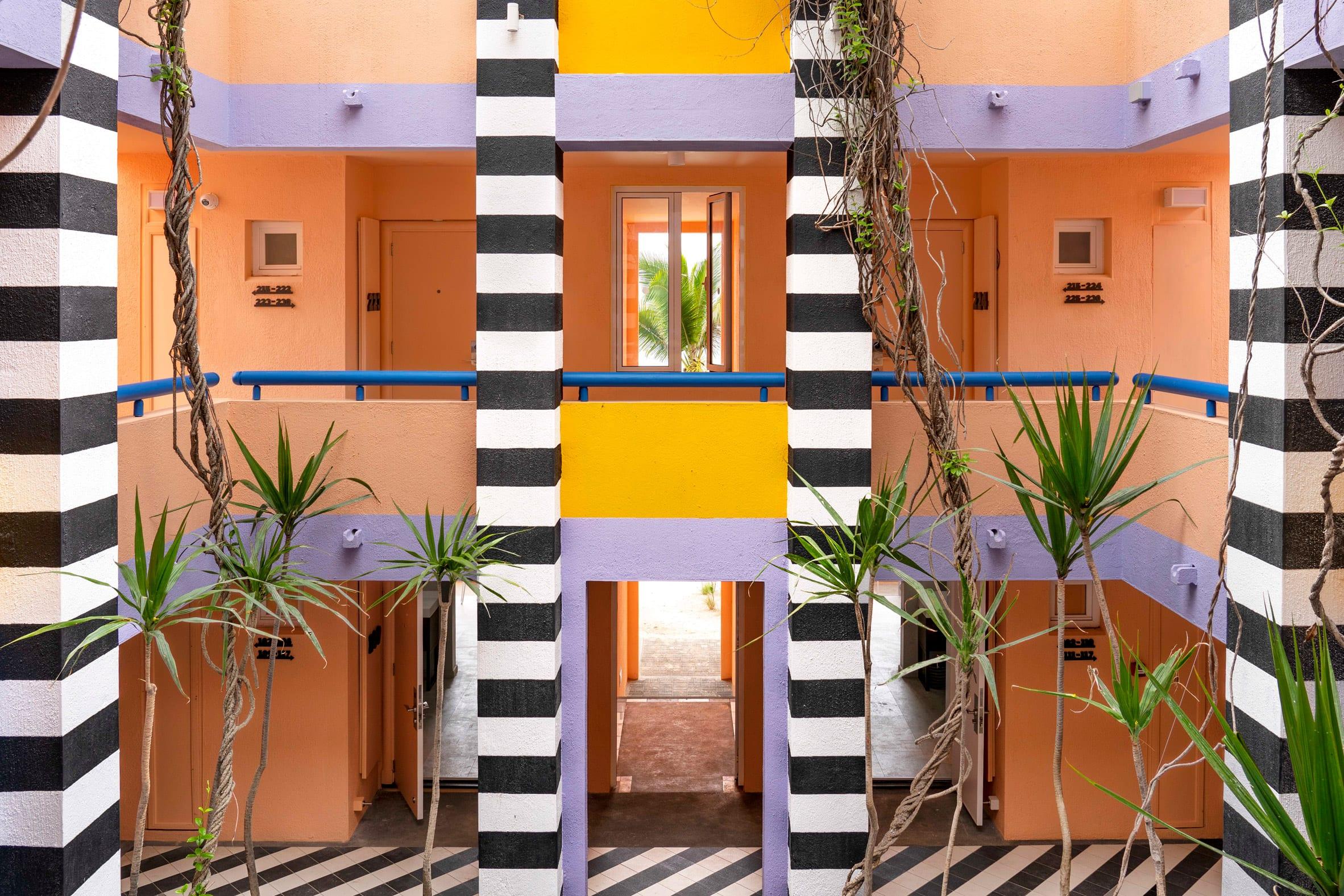 Salt Palmar Hotels Mauritius - Memphis design