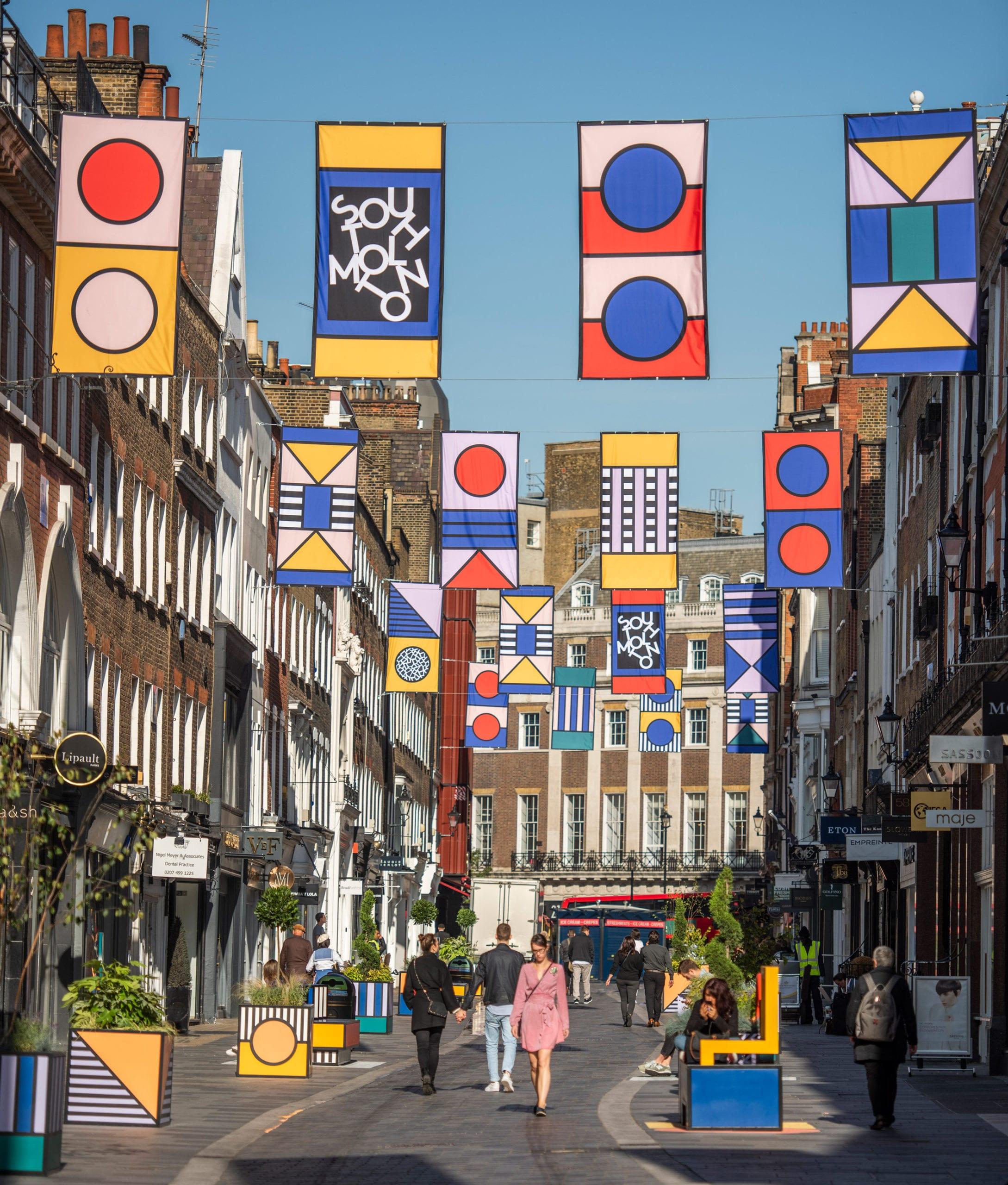 Walala Longue London - Design Festival