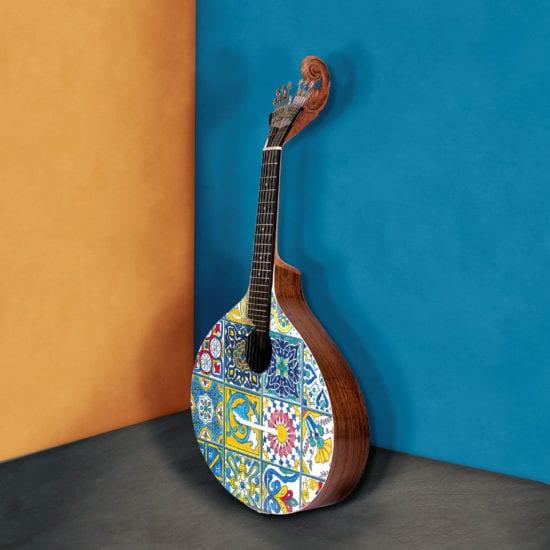 Azulejo I Portuguese Guitar by Malabar