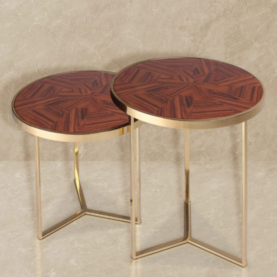 Tarsia Side Table