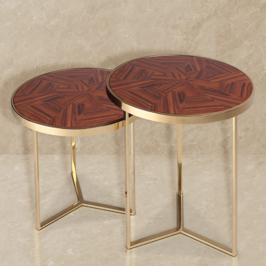 Tarsia side table
