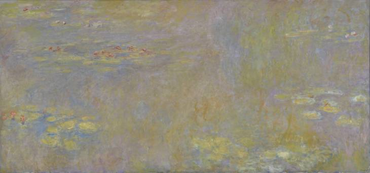 Water-Lilies after 1916 by Claude Monet
