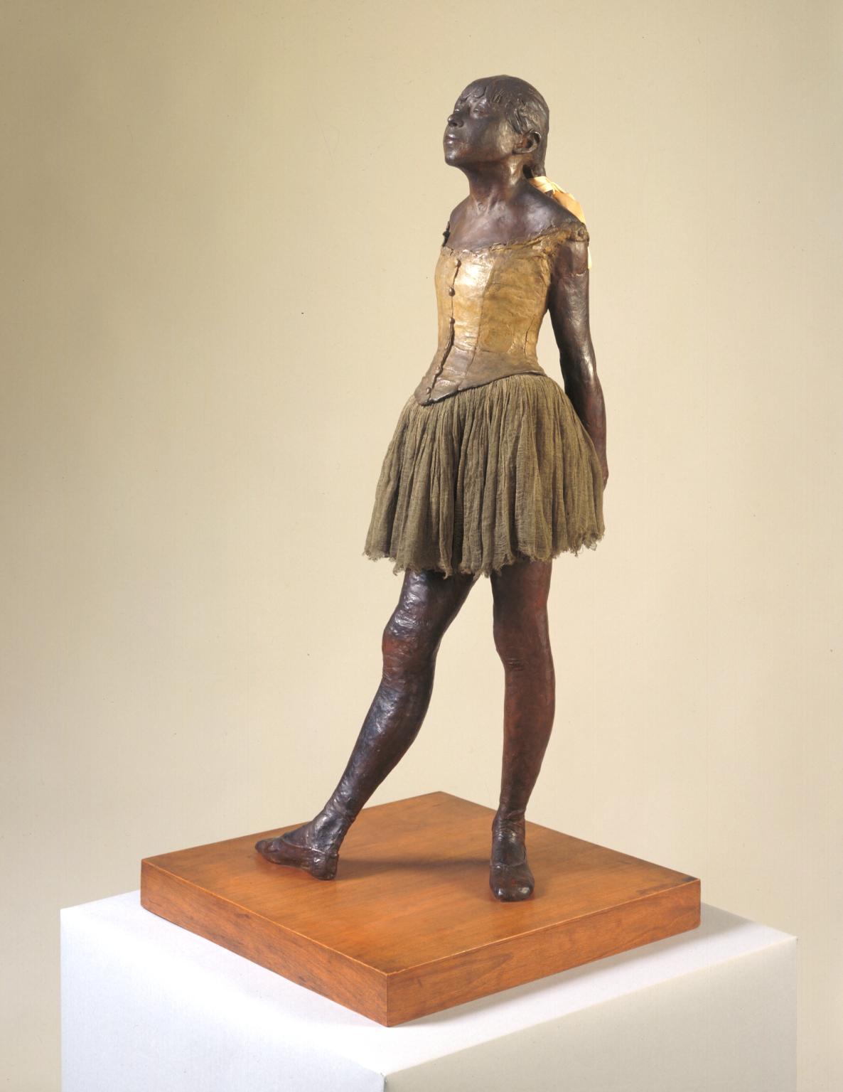 Little dancer aged fourteen 1880-1, cast c. 1922 edgar degas