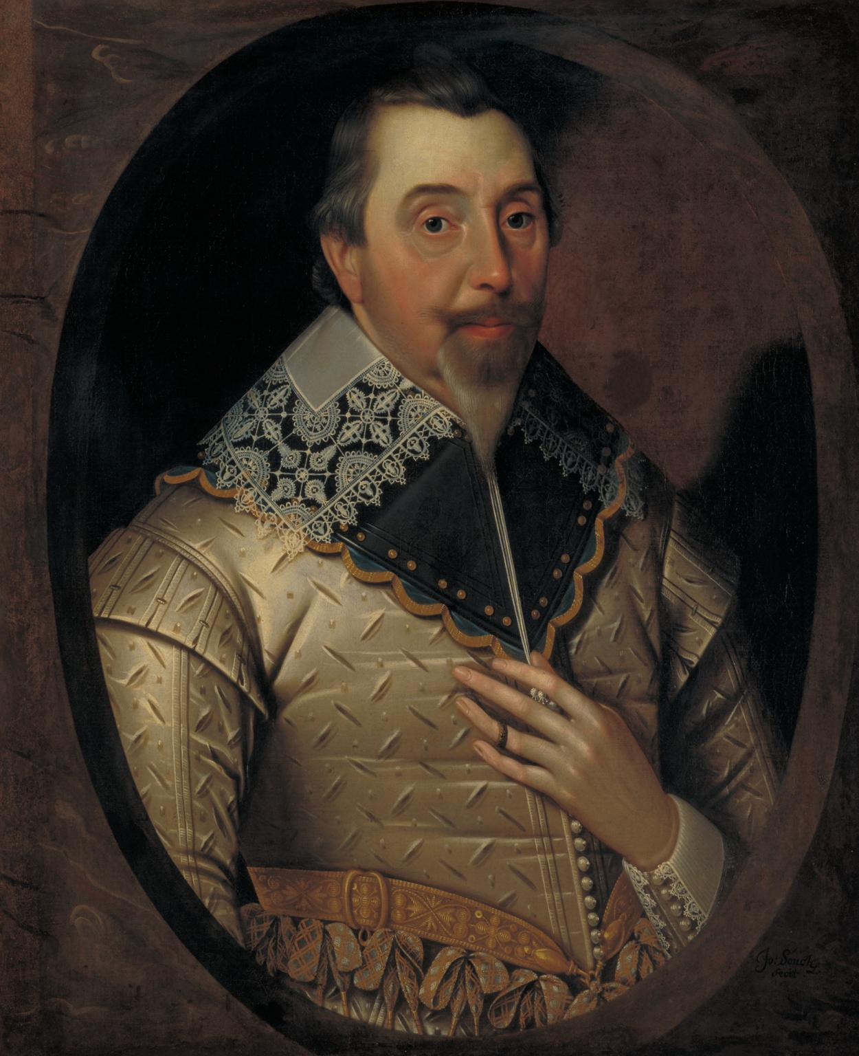 George Puleston c.1625-30 by John Souch