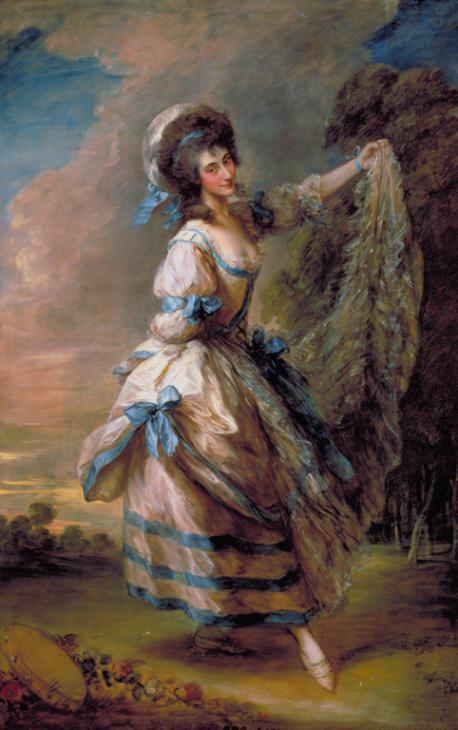 Giovanna baccelli exhibited 1782 thomas gainsborough