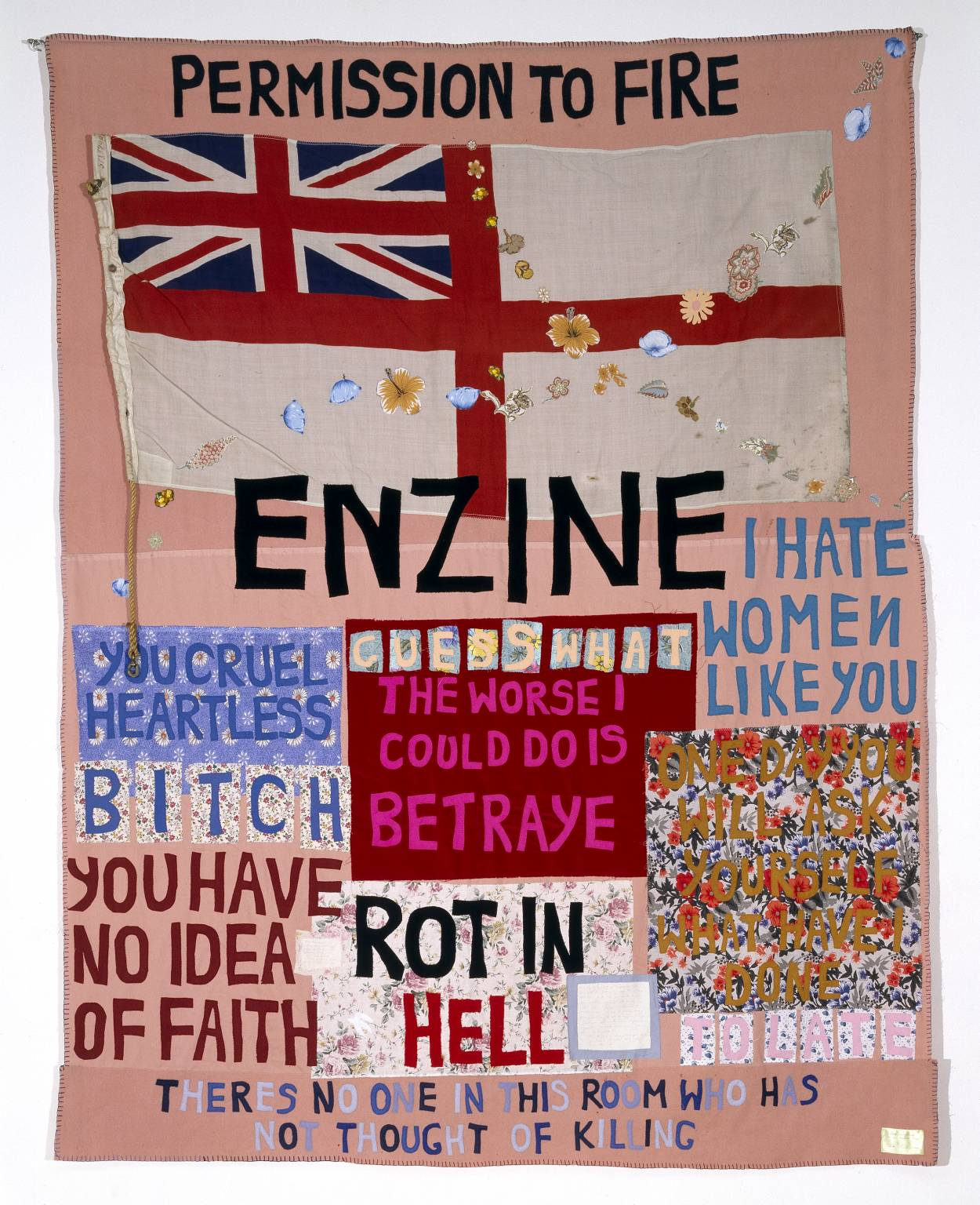 Hate and Power Can be a Terrible Thing 2004 Tracey Emin