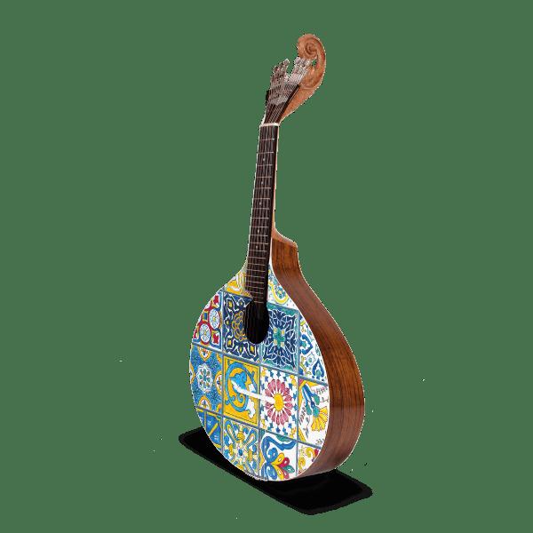 Azuleijo guitar i portuguese guitar